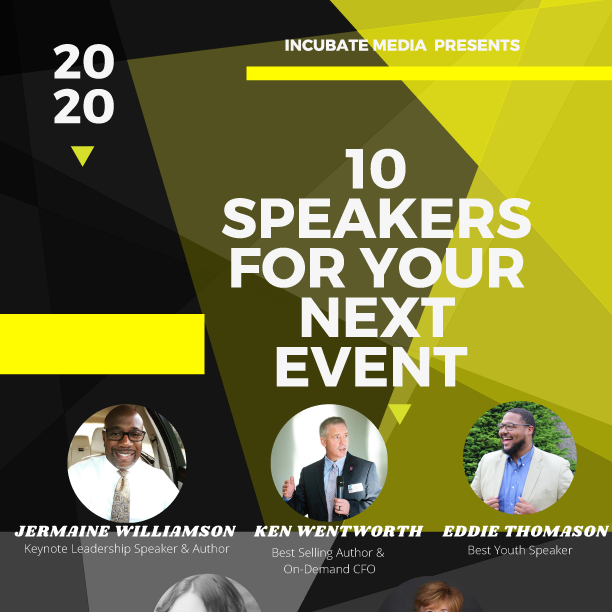 10 Speakers to Book for Your Next Event