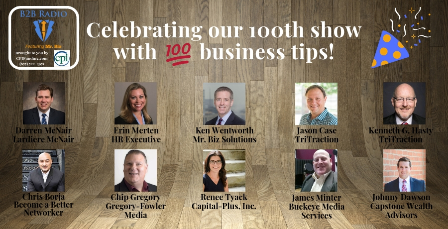 Celebrating Our 100th Show With 100 Business Tips