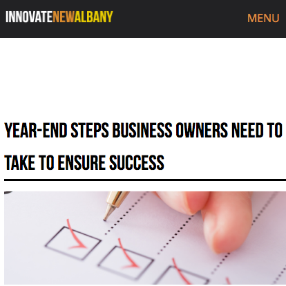 Year-End Steps Business Owners Need to Take to Ensure Success