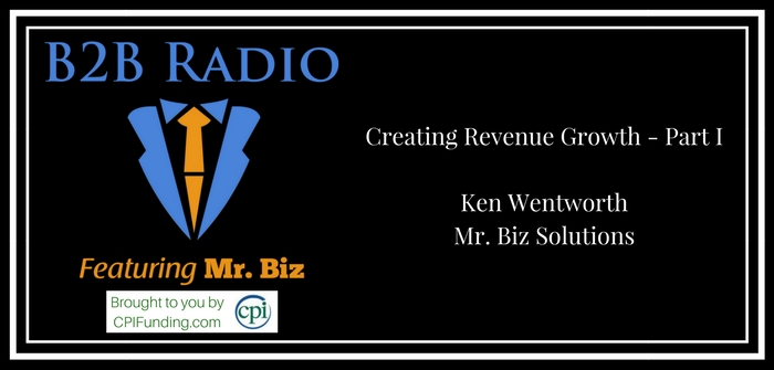 Creating Revenue Growth - Part I