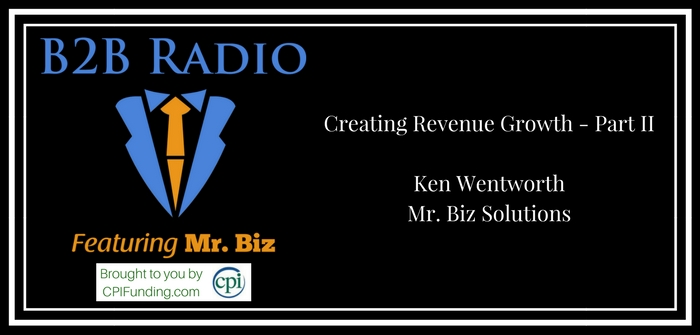 Creating Revenue Growth - Part II