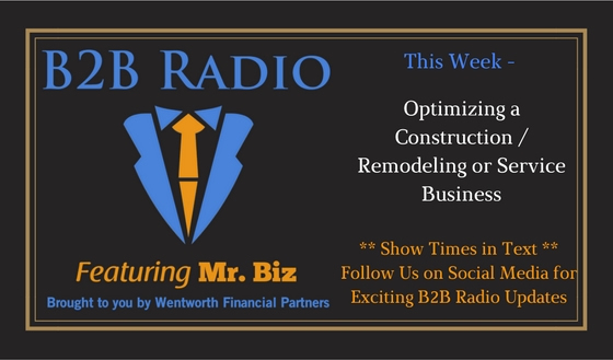 Optimizing a Construction / Remodeling or Service Business