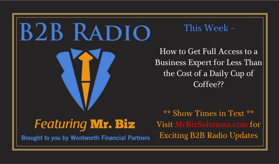 How to Get Full Access to a Business Expert for Less Than the Cost of a Daily Cup of Coffee
