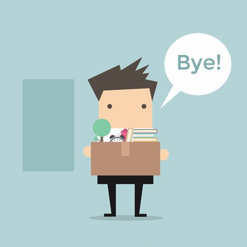 What do you do when an employee leaves?